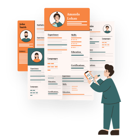 job search illustration